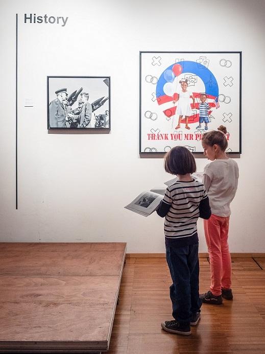 MOSTRE: l'America di ieri e di oggi, a Milano, nel dialogo d'arte fra padre e figlia