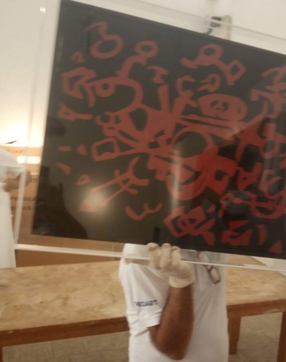 ARTE: lavori in corso a Marsala per la grande mostra su Accardi e Sanfilippo