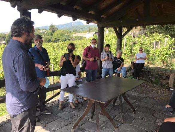 VINIMILO: verso il secondo weekend con  degustazioni, convegno INGV e tour in vigna