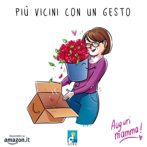 Festa della Mamma: torna in piazza l'Azalea della Ricerca di Fondazione AIRC
