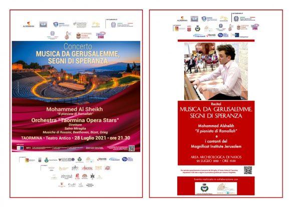 MUSICA: a Naxos e Taormina i concerti del giovane palestinese Mohammed Al Sheikh